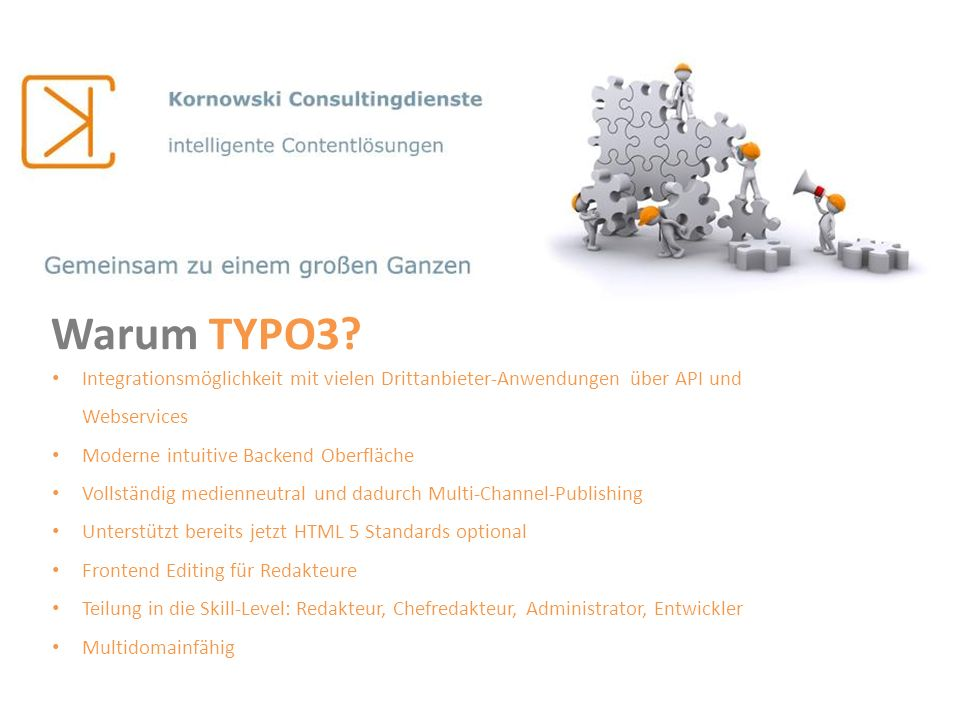 TYPO3 Alternativen.