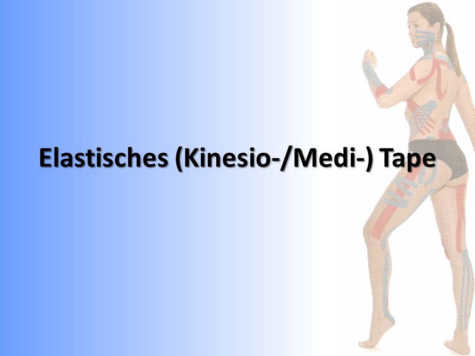 Narben-Tape zur Mobilisierung des Narbengewebes