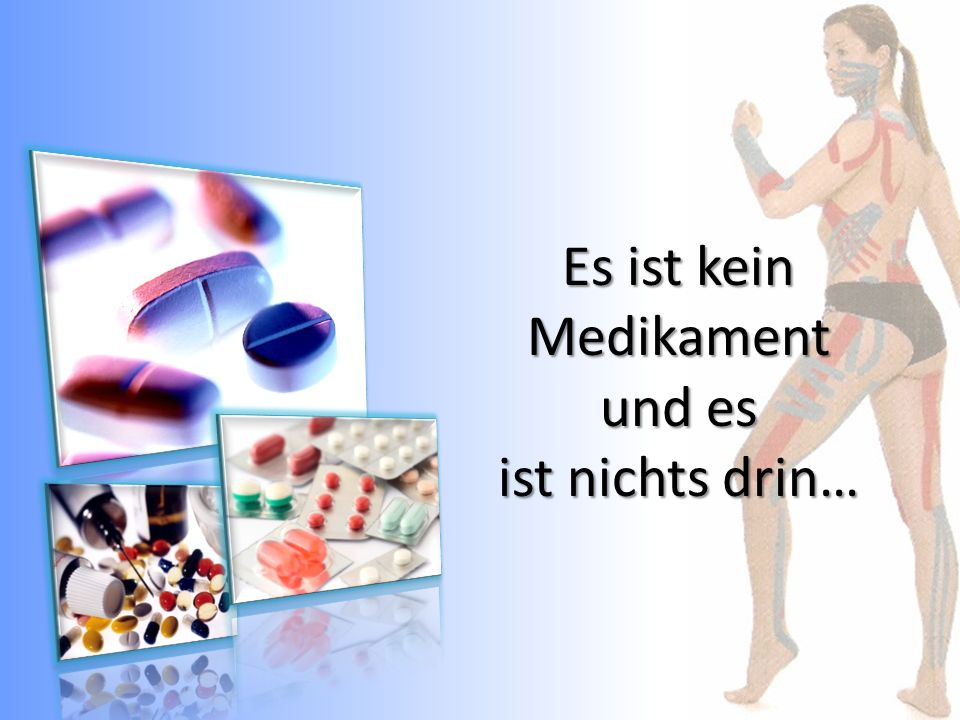 Morbus Sudeck-Tape 2 Lymphtapes und 1 Muskeltape