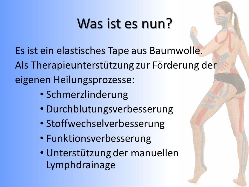 Schwellungstape nach Knie-OP Stabilisation für Kniescheibe