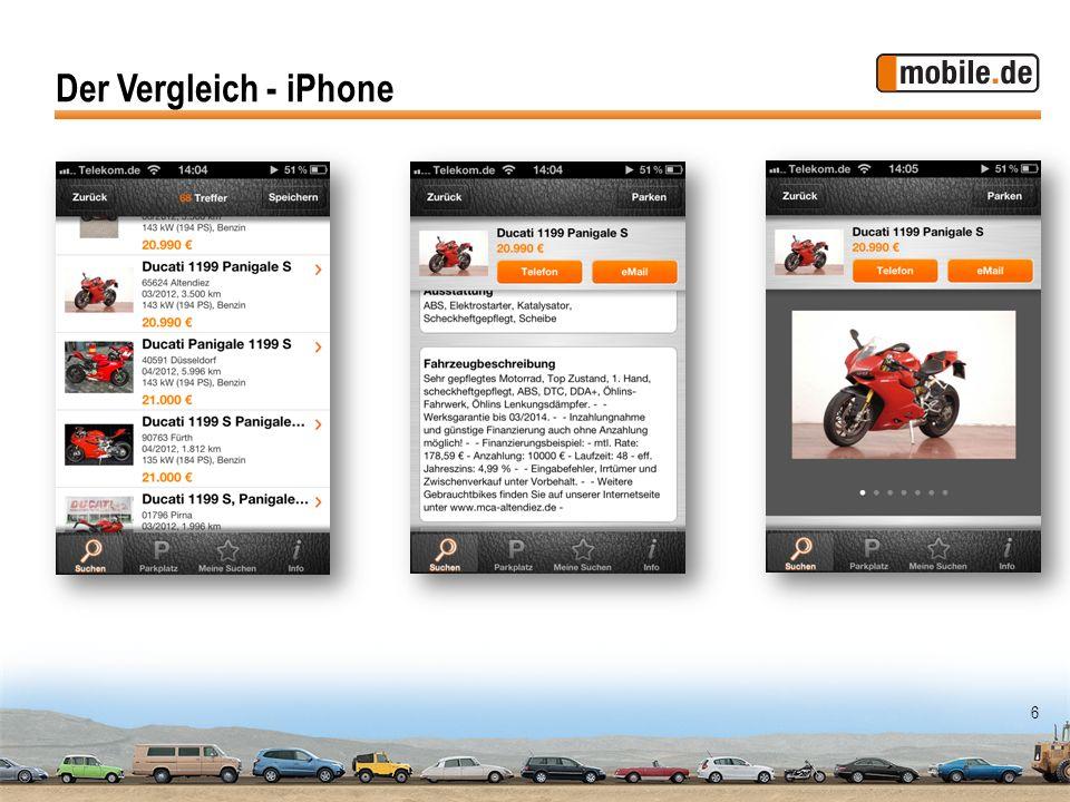 6 Der Vergleich - iPhone