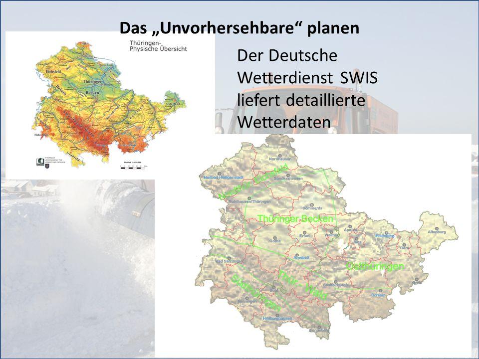 15 37 Salzlagerstätten Kapazität: ca.108.000 to Salz Streumengen - Monitoring einschl.