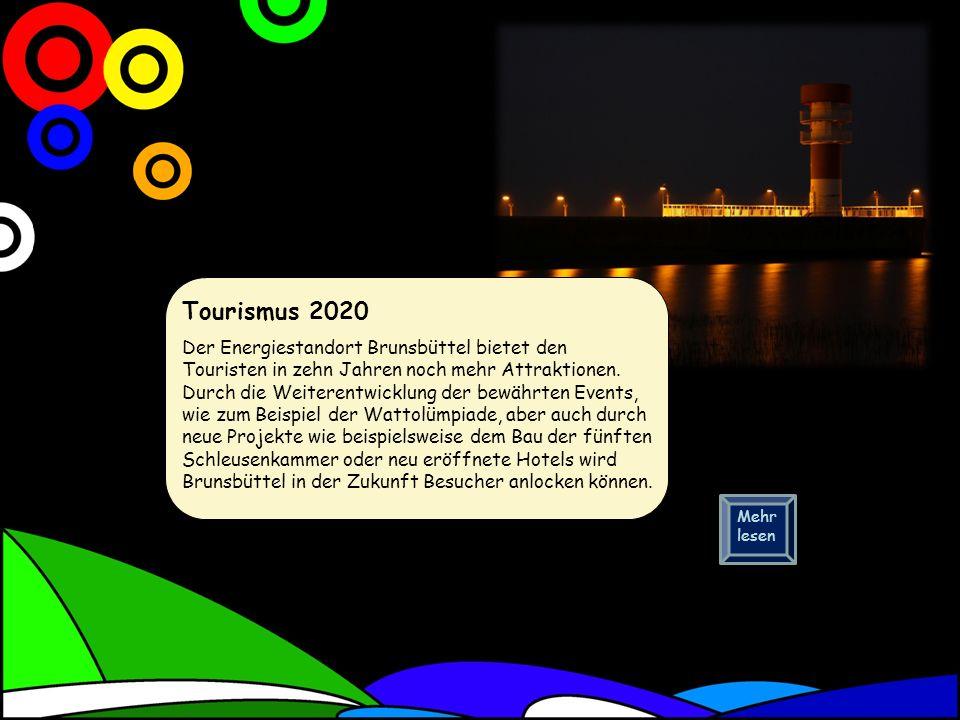 Tourismus 2020 Der Energiestandort Brunsbüttel bietet den Touristen in zehn Jahren noch mehr Attraktionen.