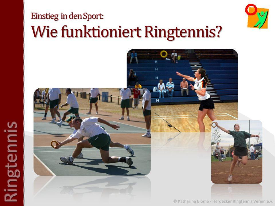 Einstieg in den Sport: Wie funktioniert Ringtennis?