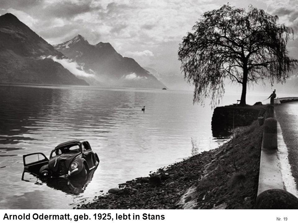 Arnold Odermatt, geb. 1925, lebt in Stans Nr. 19