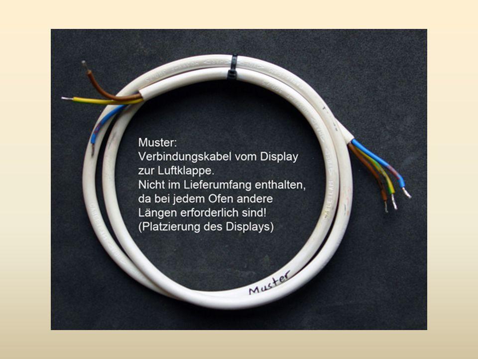 Umfang Einbausatz Zeitgesteuerte Absperrautomatik: Luftklappe mit aufgebautem Stellmotor und integriertem Hebel für Handbetätigung Einputzdose Batteriefach (für 4 Stk.