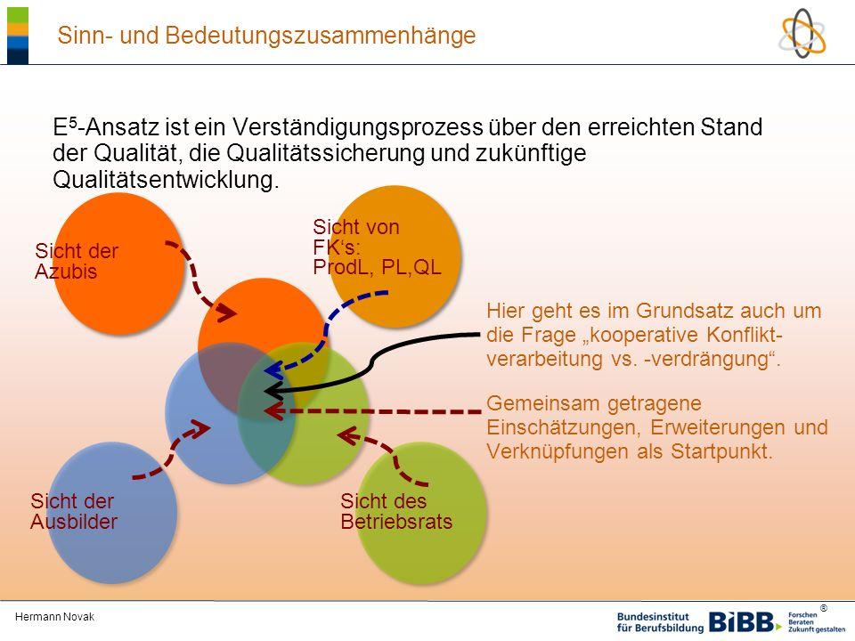 ® Qualitätsmodell im Forschungsprojekt.Ausbildung aus Sicht der Auszubildenden Beicht, U.