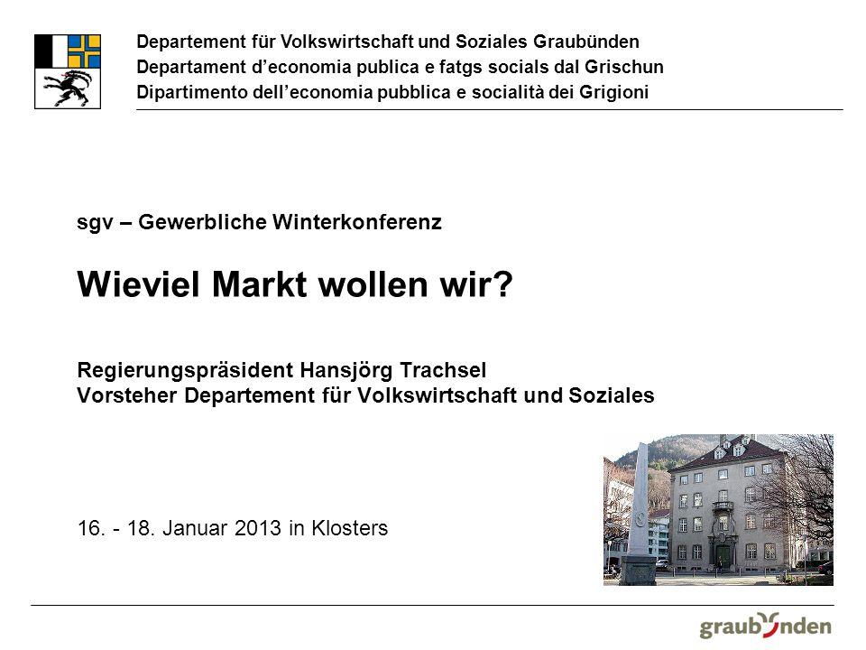 Departement für Volkswirtschaft und Soziales Graubünden Departament deconomia publica e fatgs socials dal Grischun Dipartimento delleconomia pubblica e socialità dei Grigioni 16.