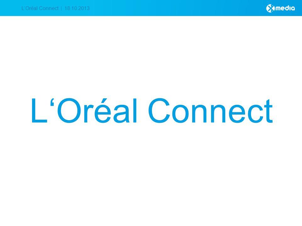 LOréal Connect | 18.10.2013 LOréal Connect