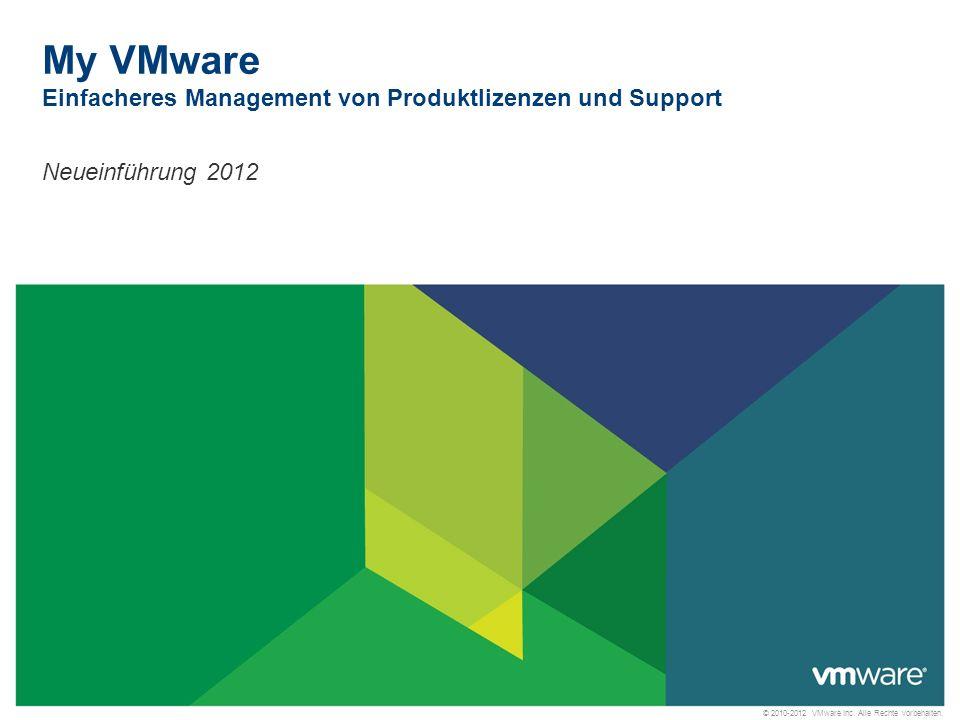 © 2010-2012 VMware Inc. Alle Rechte vorbehalten.