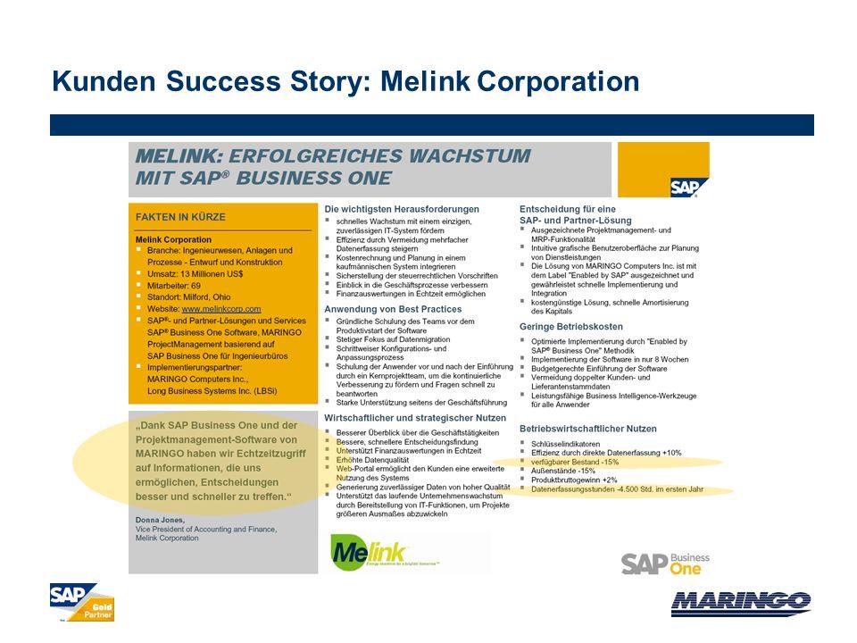 Kunden Success Story: Melink Corporation