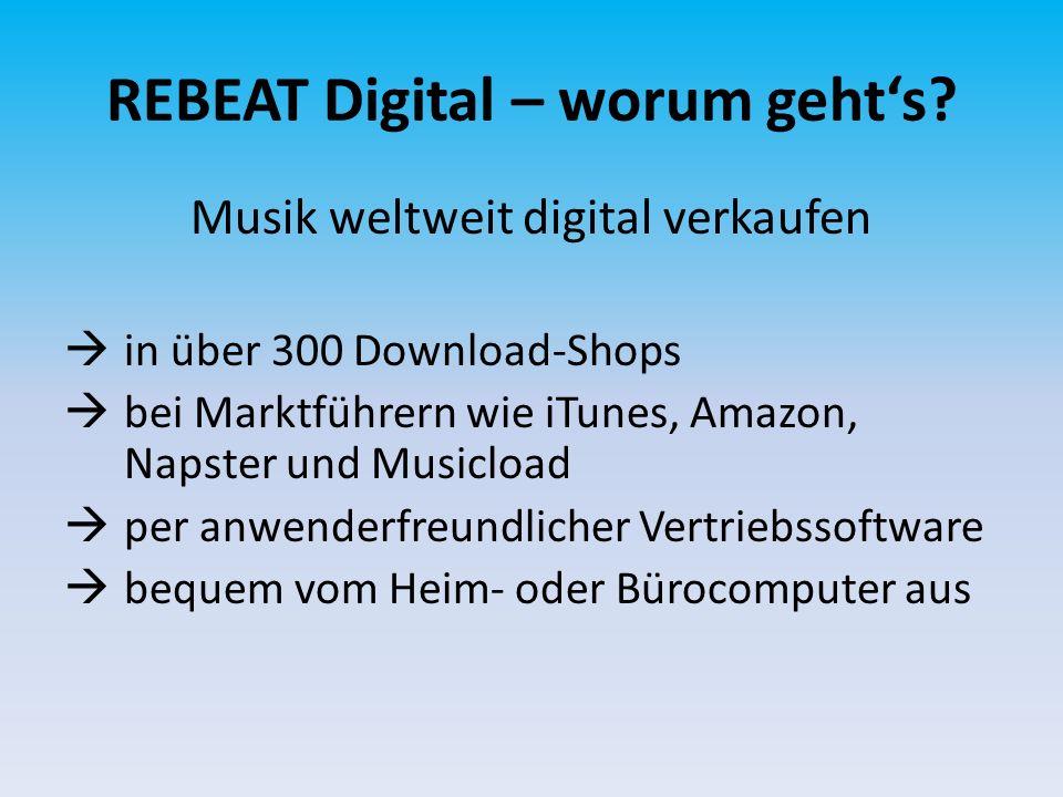 REBEAT Digital – wie funktionierts.