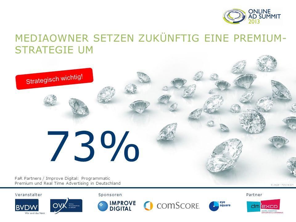 Veranstalter Sponsoren Partner MEDIAOWNER SETZEN ZUKÜNFTIG EINE PREMIUM- STRATEGIE UM Strategisch wichtig.