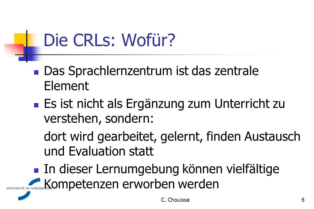 Die CRLs: Wofür.