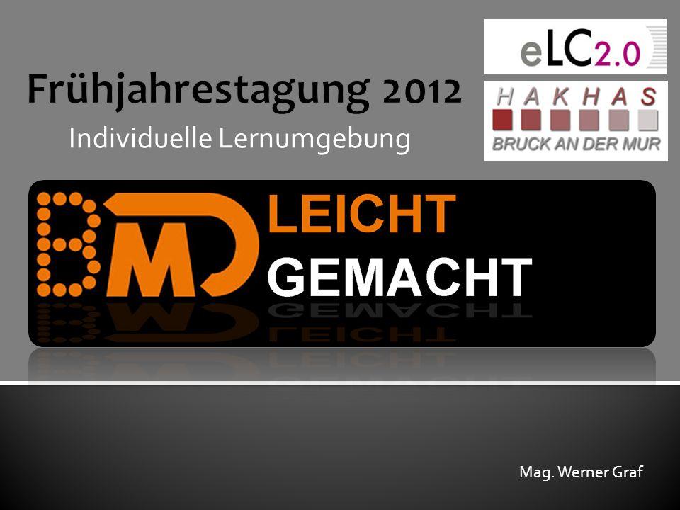 Individuelle Lernumgebung Mag. Werner Graf