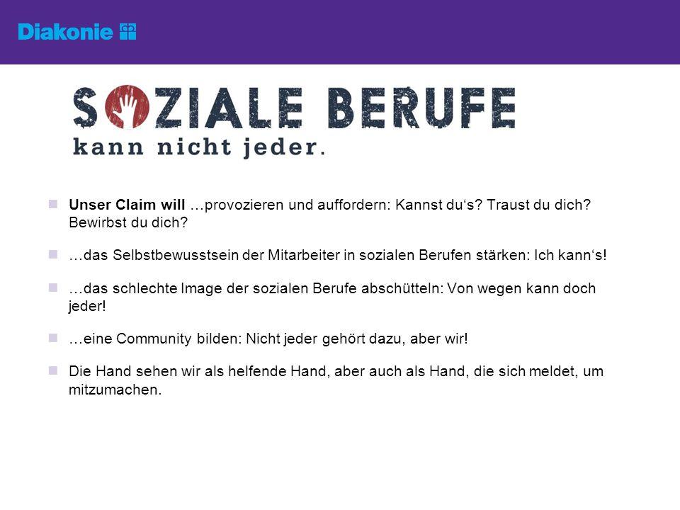 Weitere Informationen und Auskünfte erhalten Sie hier: Diakonie Deutschland Maja Schäfer Caroline-Michaelis-Str.
