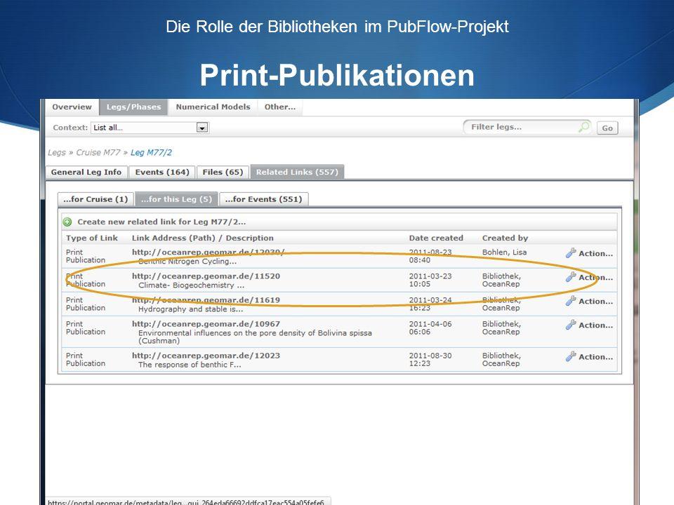 Eingabe der Forschungsdaten Aufbereitung: Autor und Körperschaften Normdaten für Autorennamen und Körperschaften.