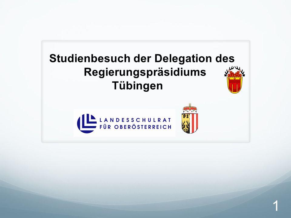 Studienbesuch der Delegation des Regierungspräsidiums Tübingen 1