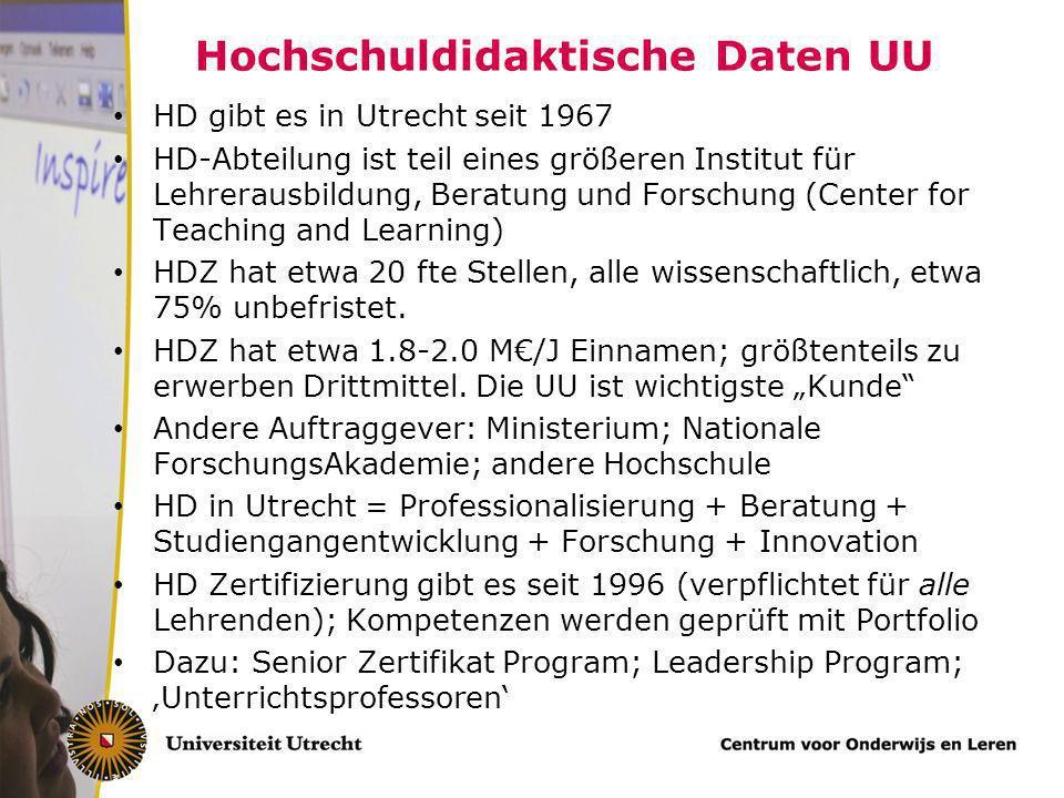 Die Universität Utrecht Sieben Fakultäten – Geistesws; Sozialws, Naturws, Geows; Jura/Wirtschafsws; Medizin; Veterinarmedizin Etwa 30.000 Studierenden