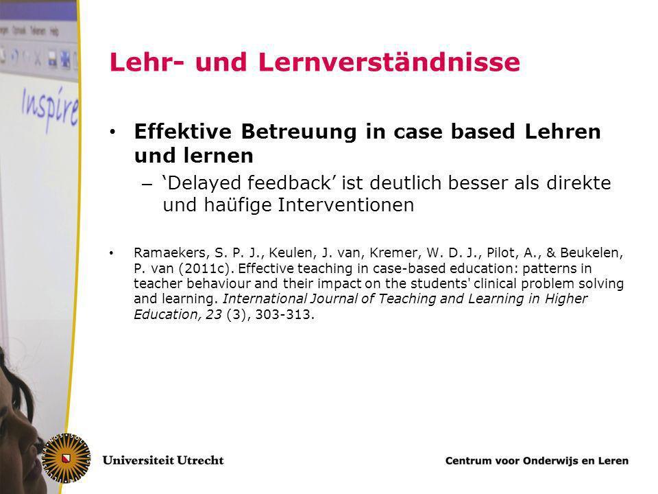 Fachspezifische und fachübergreifende Elementen Anwendung allgemeine Lehr/lernprinzipien – Authentizität des Problemlösungsprozeß – Representativität