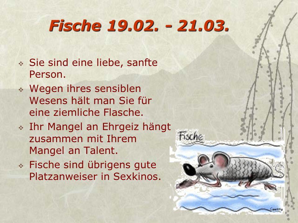Wassermann 20.01 - 19.02.