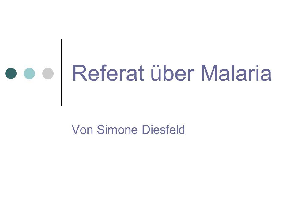Opfer 1,5 – 2,7 Mio.Menschen sterben jährlich an Malaria 300 – 500 Mio.