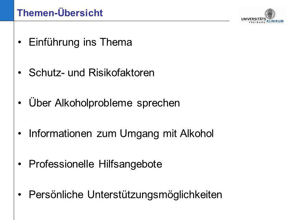 Wissenswertes zum Alkohol