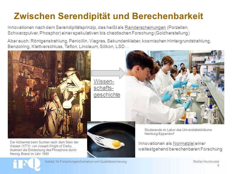 Mehr Wissenschaft = Mehr Innovation .