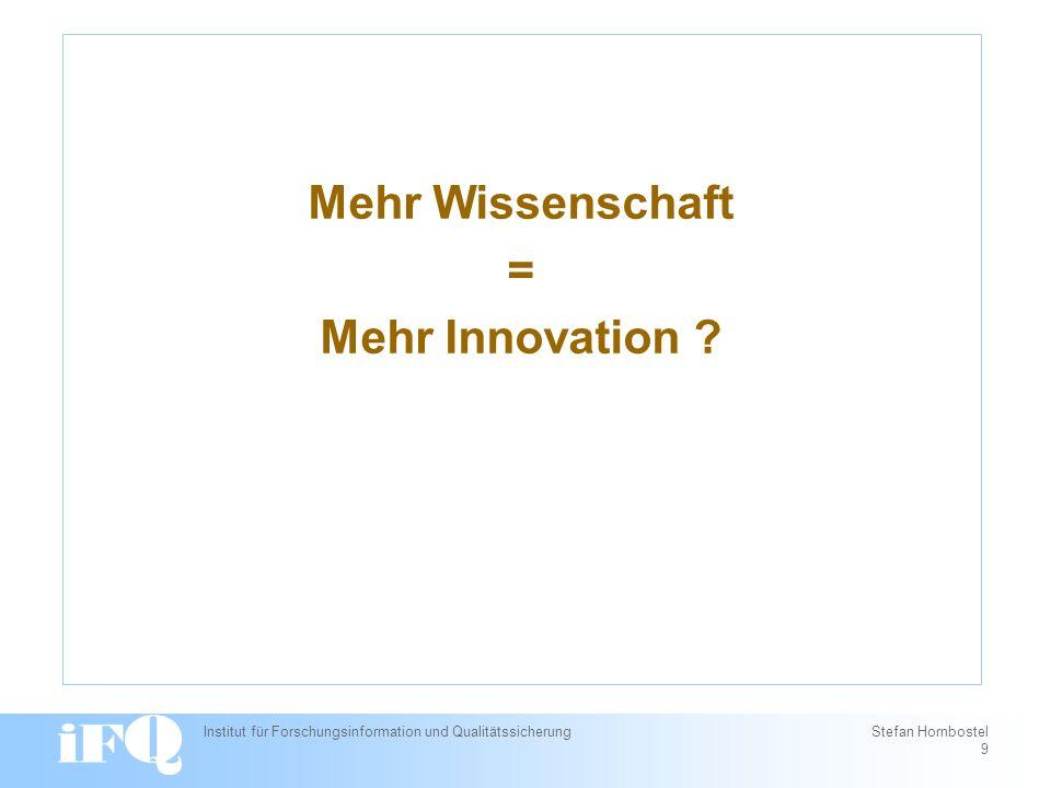 Innovationsverläufe: Popper vs.