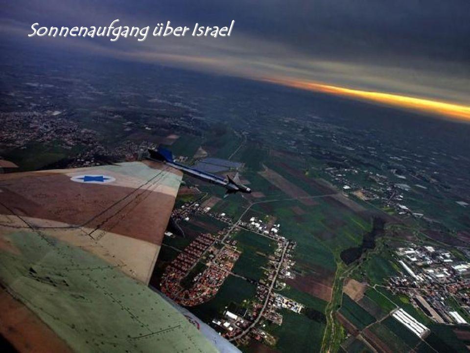 Sonnenaufgang über Israel
