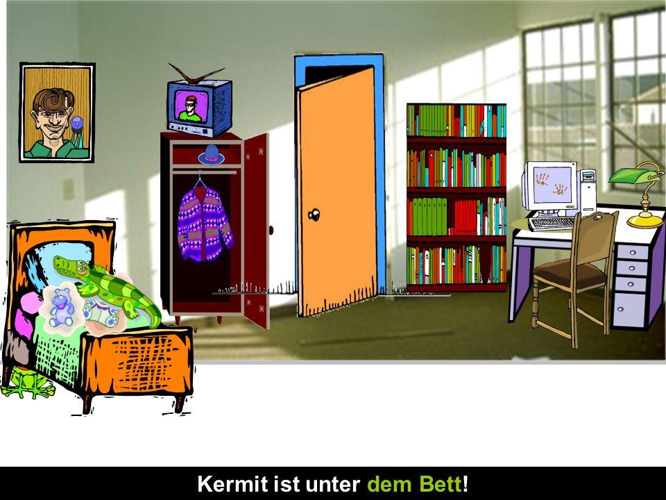 Anna und Mia sind Freundinnen. Anna wohnt in Deutschland und Mia wohnt jetzt in England. Sie sprechen über Mias neues Zimmer. Ist dein Zimmer schön? J