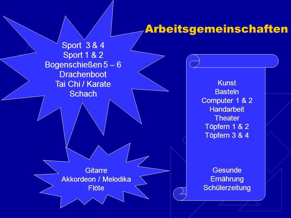 Kooperationspartner Hort Kirchengemeinde VereineSchuleEinzelpersonen