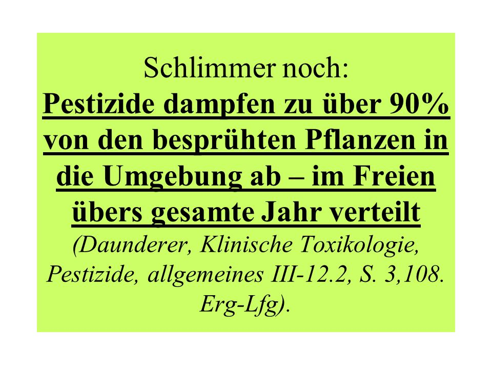 Der Industrieverband Agrar: gibt heraus: Wirkstoffe in Pflanzenschutz- und Schädlingsbekämpfungsmitteln.