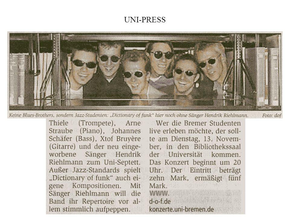 Syker Kreiszeitung vom 10. November 2001