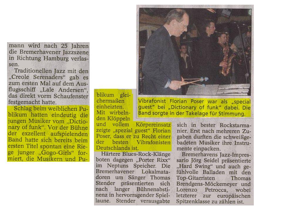 Sonntagsjournal Bremerhaven vom 20. April 2003