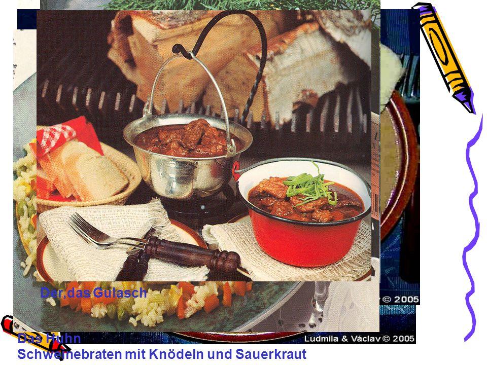 Über die deutsche Küche Sie ist nicht einheitlich.