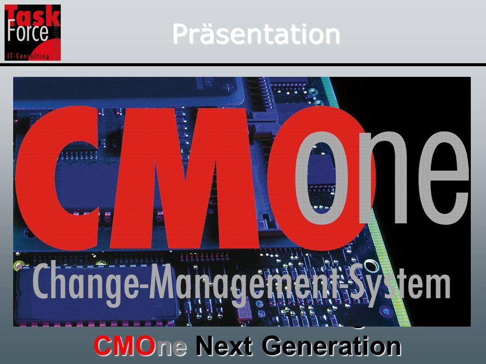 Präsentation Datenbankerweiterung mit CMOne Next Generation