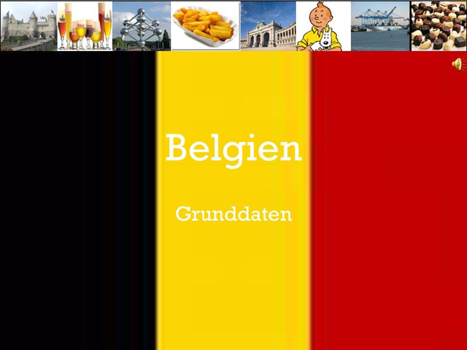 Belgien Grunddaten