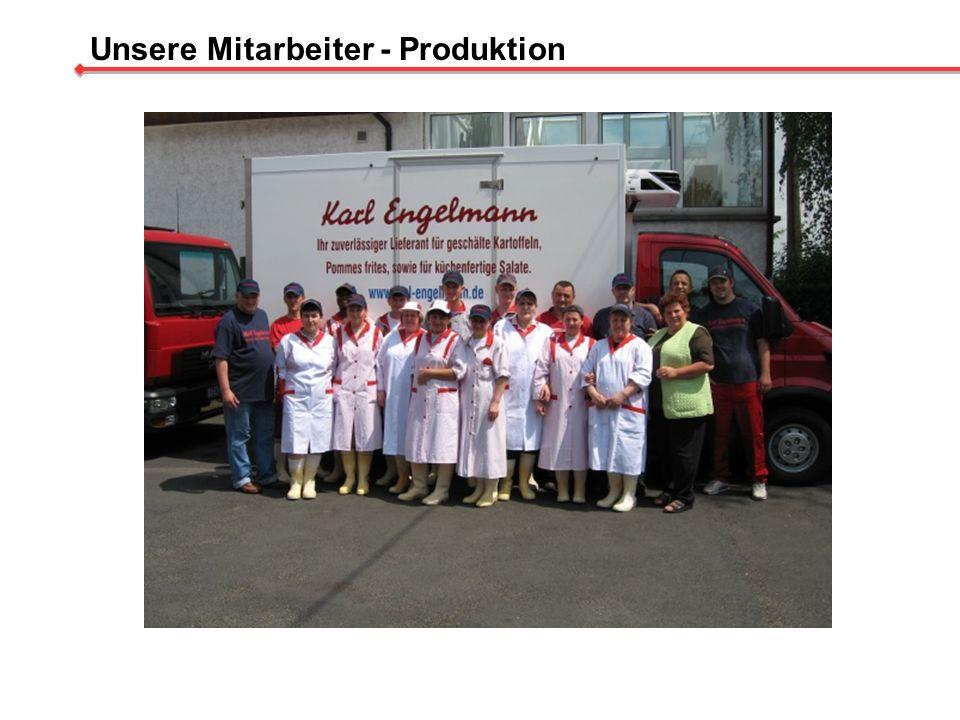 Unsere Mitarbeiter - Produktion