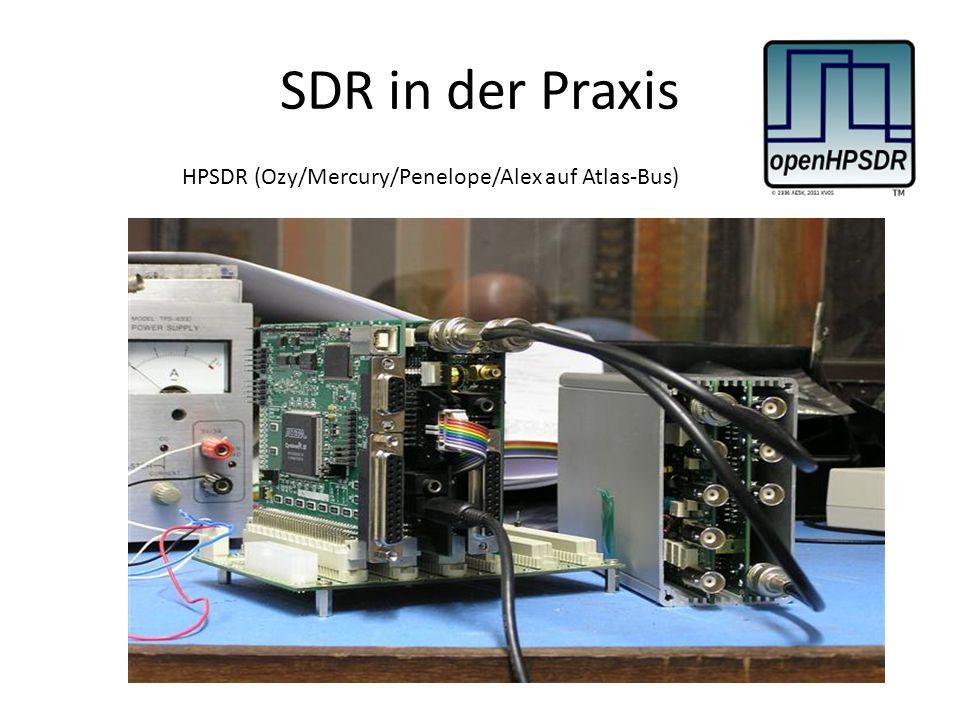 SDR in der Praxis HPSDR (Ozy/Mercury/Penelope/Alex auf Atlas-Bus)