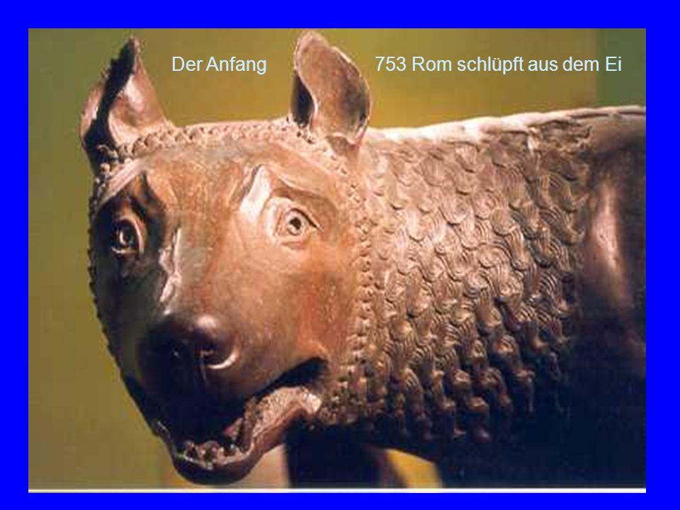 Die Lupa Der Anfang 753 Rom schlüpft aus dem Ei