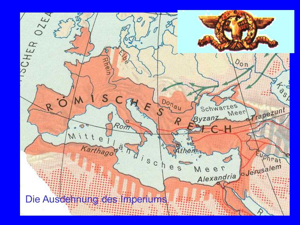 Imperium Karte Die Ausdehnung des Imperiums