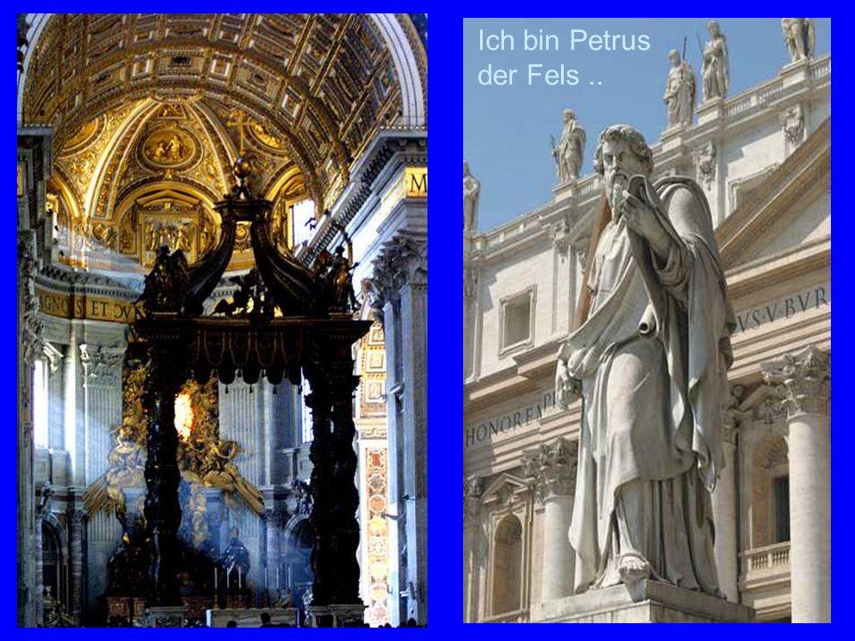 St.Peter Ich bin Petrus der Fels..