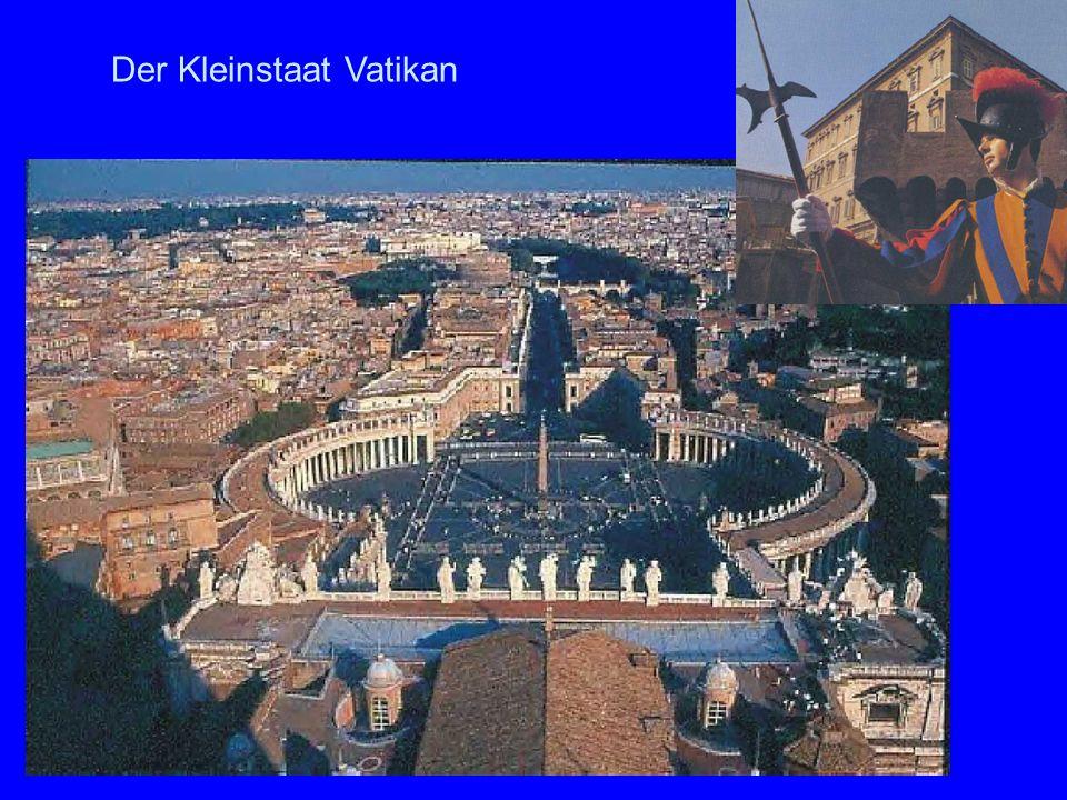 Der Kleinstaat Vatikan