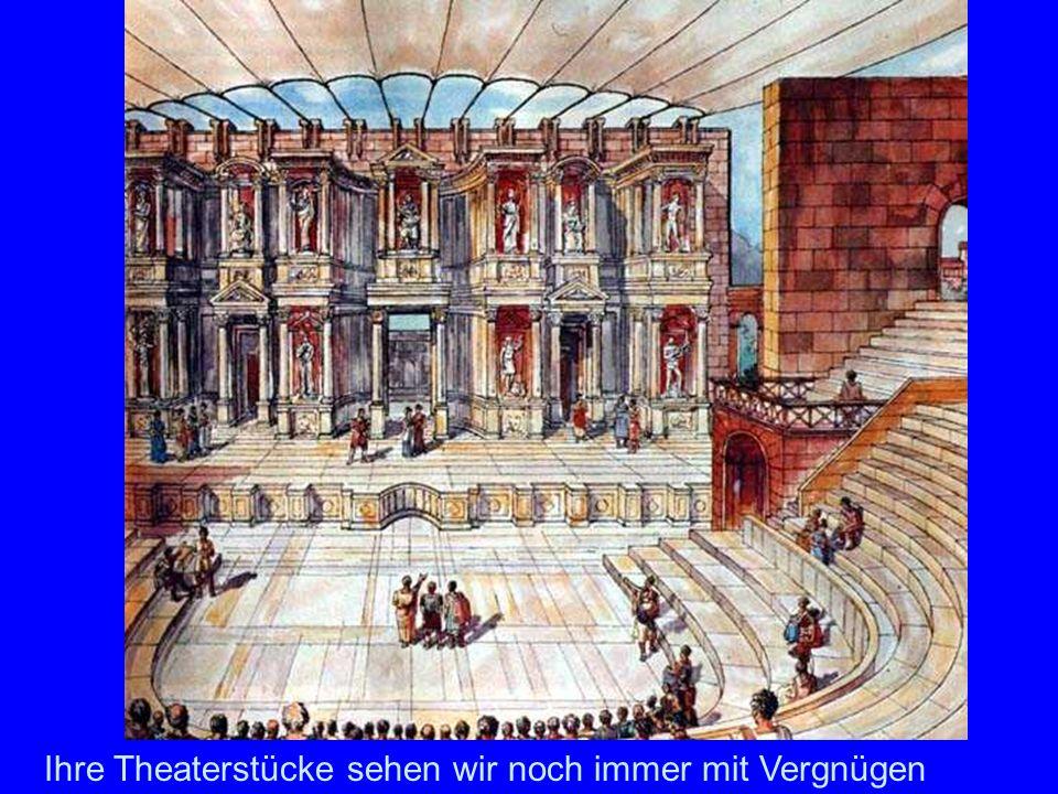 Thermen Noch größere und prächtigere Badeanlagen entstehen, wie die des Kaisers Diokletian