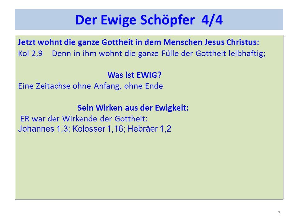 Der Engel Jehovas 1/3 Der Engel Jehovas ist die Sichtbarmachung Gottes des Sohnes, aber noch nicht in Fleisch und Blut.
