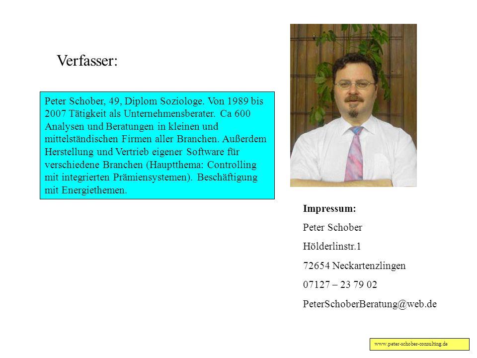www.peter-schober-consulting.de Motive der Nebendarsteller in Synopse