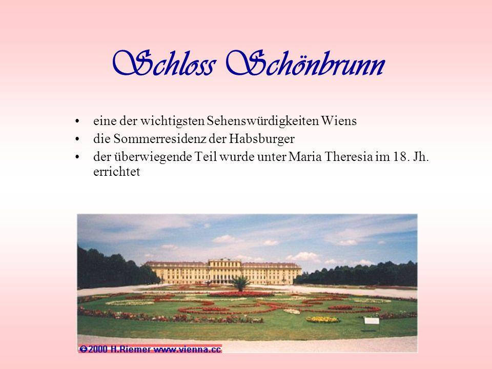 Wien – die Hauptstadt von Österreich