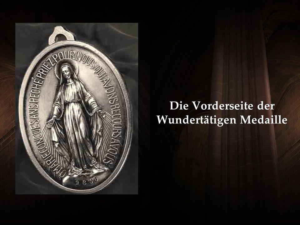 Die Vorderseite der Wundertätigen Medaille