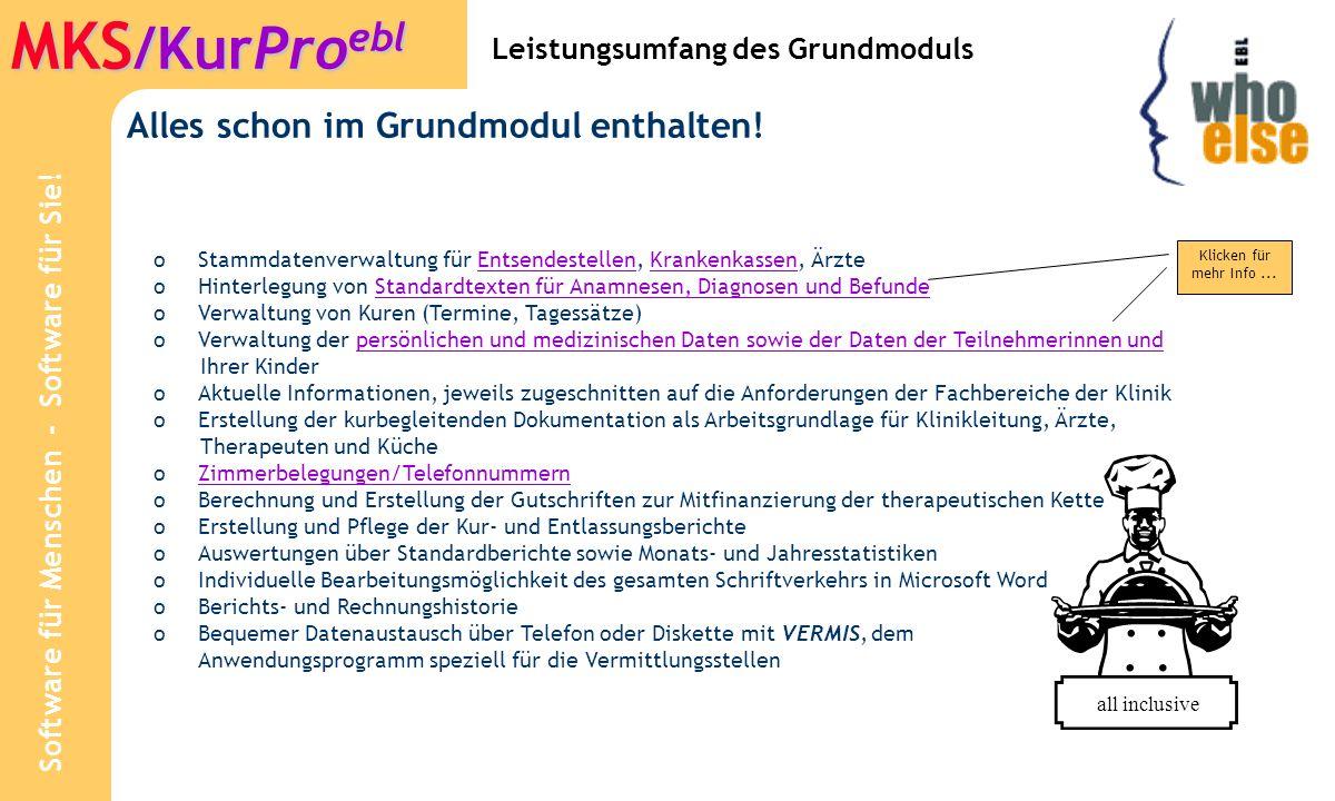 Software für Menschen - Software für Sie! MKS /KurPro ebl Stammdaten: Diözesen
